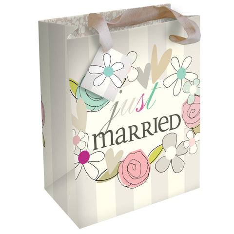 Just Married Gift Bag