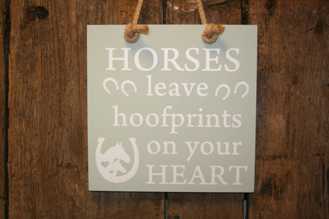 Hoofprints on your Heart