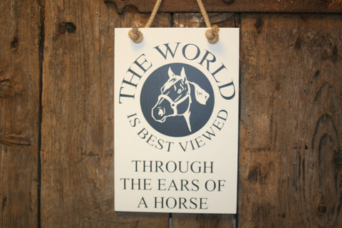 Through the Ears of a Horse
