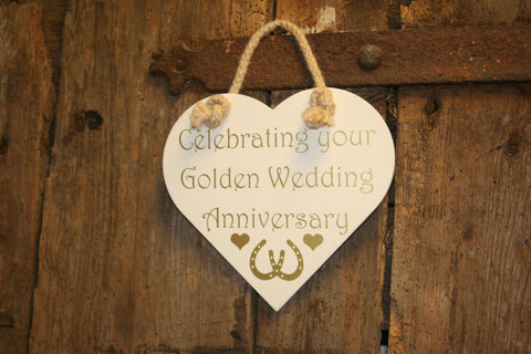 Celebrating your Golden Wedding Anniversary
