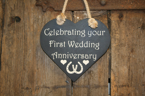 Celebrating your First Wedding Anniversary