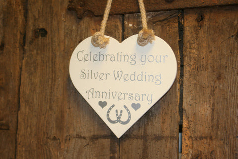 Celebrating your Silver Wedding Anniversary