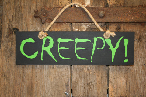 Creepy (Black with Green)