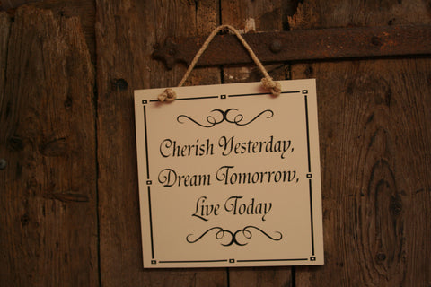 Cherish Yesterday