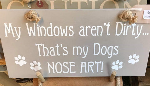 Dogs Nose Art