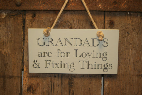 Grandad Fixing Things