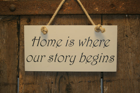 Home is Wher our Story Begins