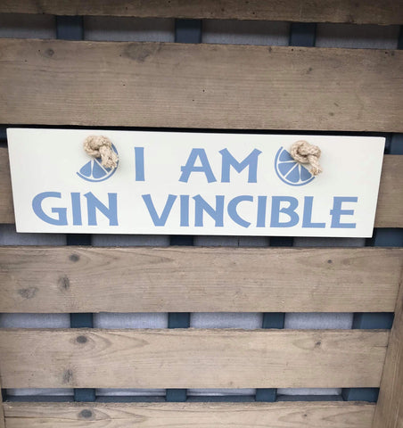 I am Gin Vincible