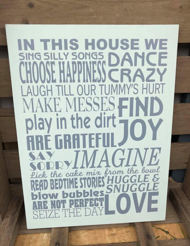 In this house... Love