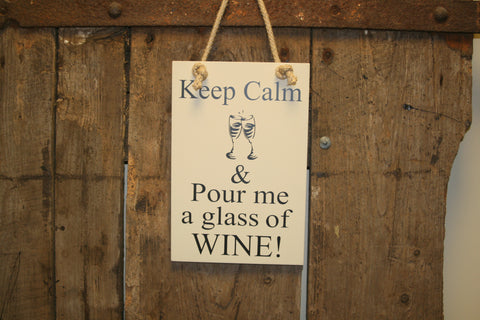 Keep Calm Wine