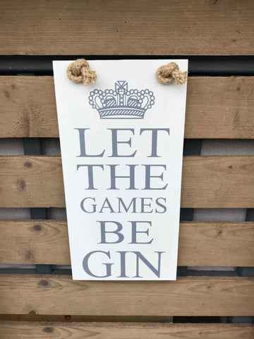 Let the games be gin