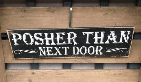 Posher than Next Door
