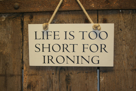 Short for Ironing