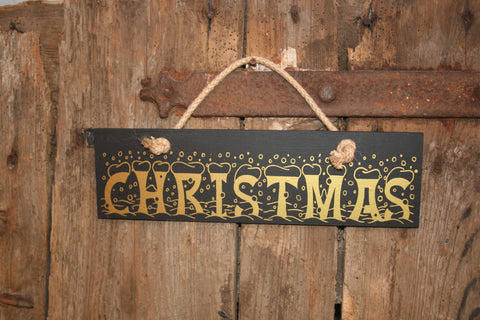Christmas (Snowing Font)