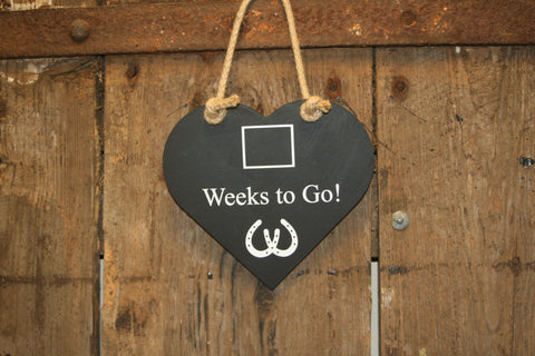 Weeks to go Wedding