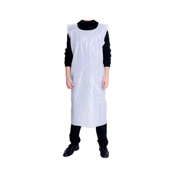Carton of 500 x 16 Micron Polythene Apron - Sanity Cares