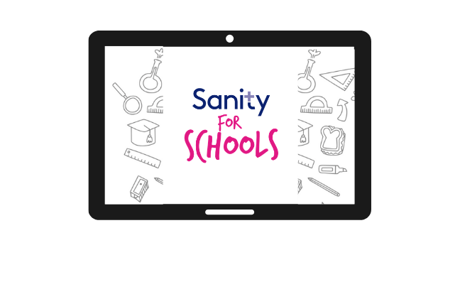 €250 Tablet for your School - Sanity Cares