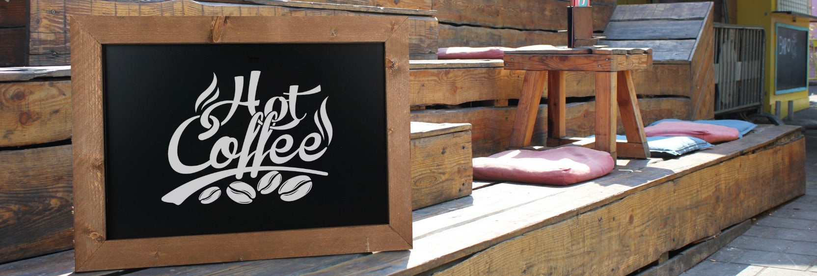 40 x 100cm Chalkboards at display-sign.co.uk