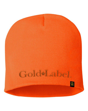 GOLD LABEL ORANGE BEANIE