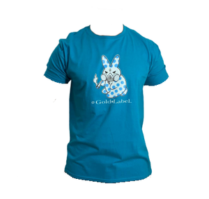 GOLD LABEL BLUE BUNNY TEE