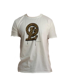 GOLD LABEL WHITE GL TEE