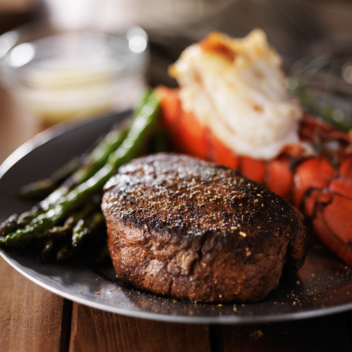 Surf & Turf for Two **ONLINE ONLY**-finsathome
