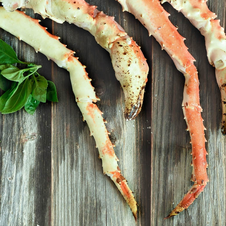 Gold King Crab - 1LB pack or 10LB Case❄️-finsathome