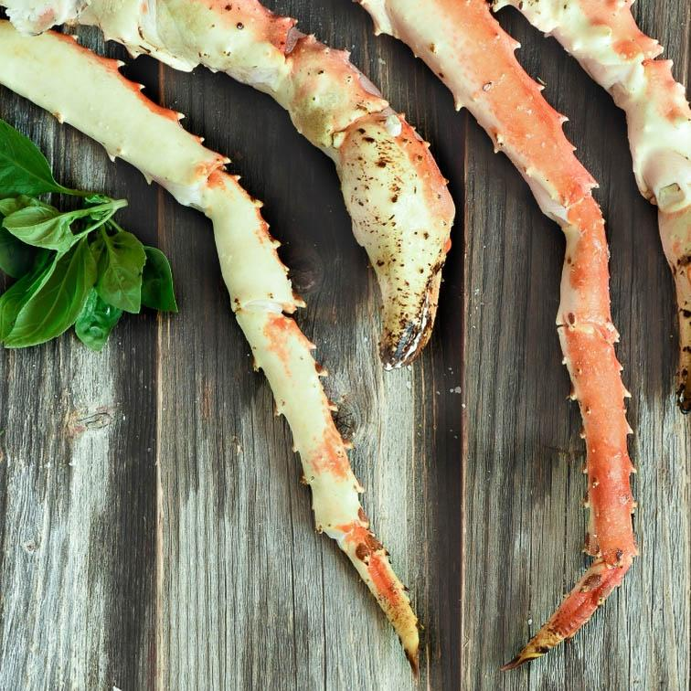 Red King Crab Leg 12-14 - 1LB pack ❄️ **ONLINE ONLY**-finsathome