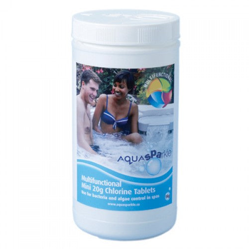 Aquasparkle Spa Multifunctional 20g Chlorine Tablets (1kg)