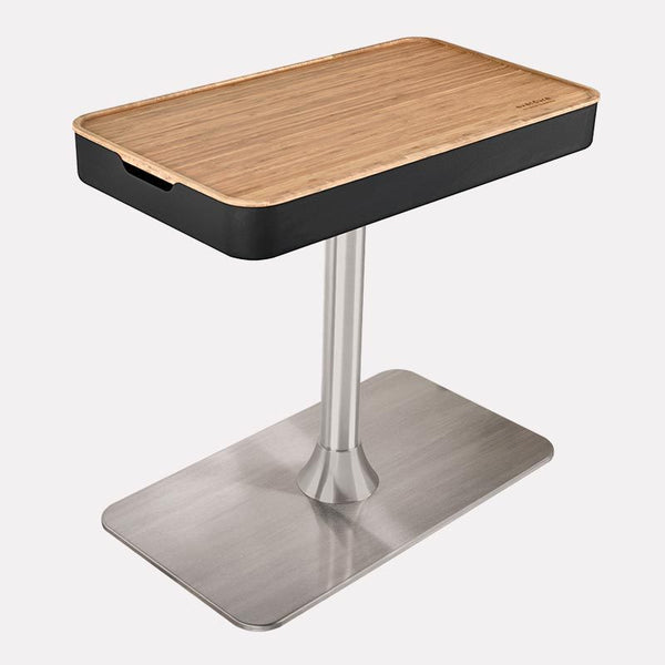 Bamboo Table Top for FUSION Pedestal Barbeque (Pedestal Not Included)
