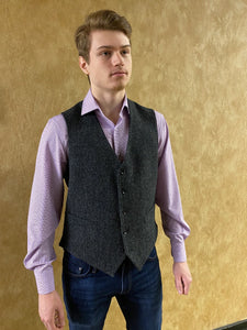 Men's Irish Tweed Vest