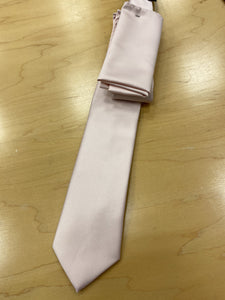 Tie with Matching Pocket Square