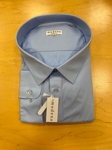 "Stout men's poplin dress shirts are roomy, full cut, and comfortable. For portly or larger men who desire comfort and style. Sizes to 22"" neck and 38-39"" sleeve"