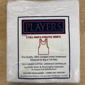 Tall Men's Undershirts