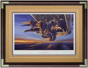 Special Forces HALO by Stuart Brown Framed