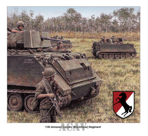 11th Armored Cavalry ACAVs by Jody Harmon
