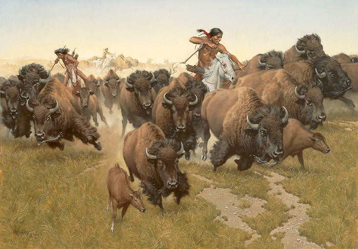 Amidst the Thundering Herd by Frank C. McCarthy