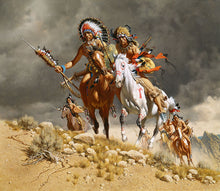 Load image into Gallery viewer, Cheyenne War Party by Frank C. McCarthy