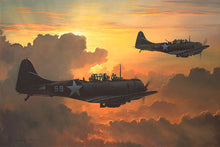 Load image into Gallery viewer, Dauntless Against A Rising Sun by William S. Phillips
