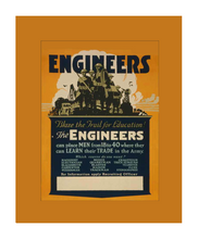 Load image into Gallery viewer, Engineers Recruiting Poster