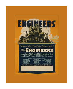 Engineers Recruiting Poster