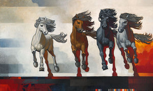 Four Horseman of the New Age by Craig Kosak