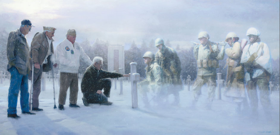 IN THE COMPANY OF HEROES by Matt Hall