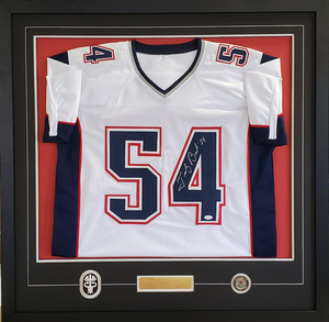 We frame jerseys!  Multiple options available