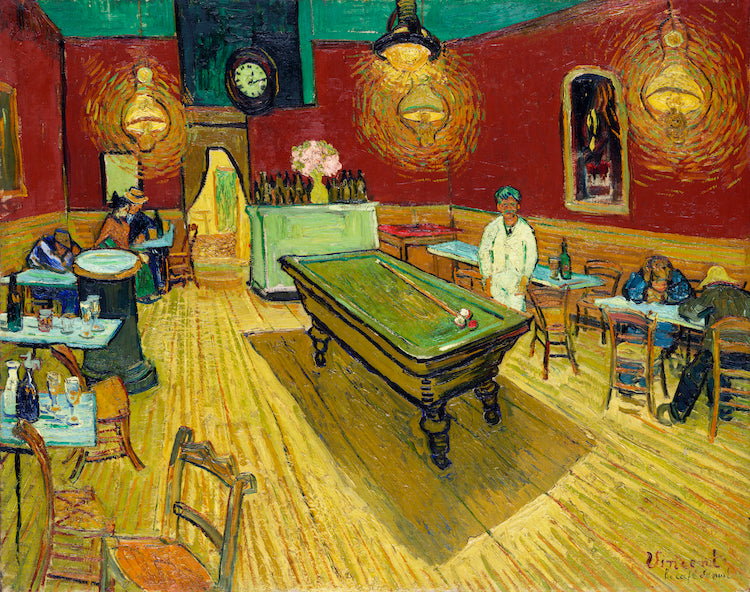 LeCafe The Night Cafe by Vincent Van Gogh