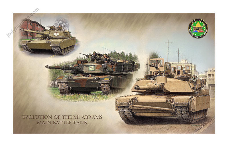 Evolution of the M1 Abrams Main Battle Tank by Jody Harmon