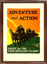 Load image into Gallery viewer, Adventure and Action - US Army Field Artillery
