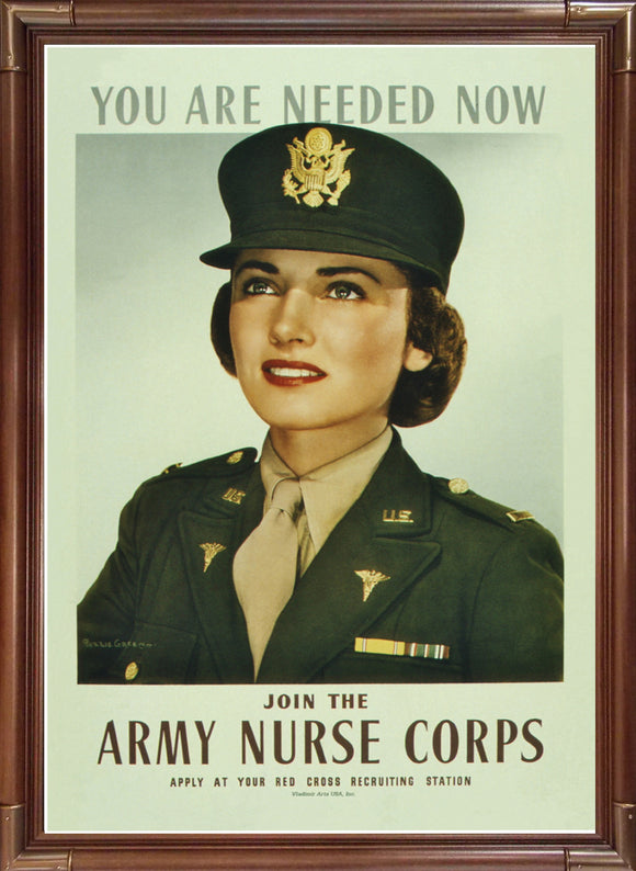 Army Nurse Corps - You Are Needed Now