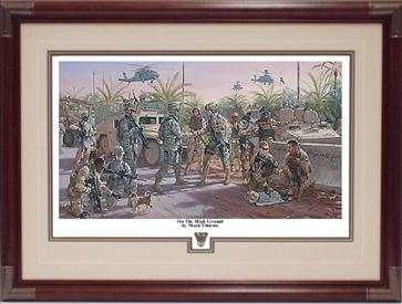 USMA Class of 95 Print - On The High Ground by Mark Churms