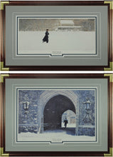 Load image into Gallery viewer, Winter Solitude; Crossing The Plain and Pershing Sallyport by Paul Steucke